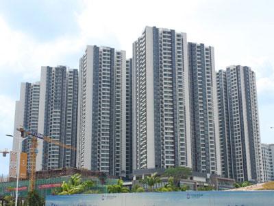 シンガポールへ向かうイミグレーションまで「徒歩10分」と最も近い好立地の新築コンドミニアム。
