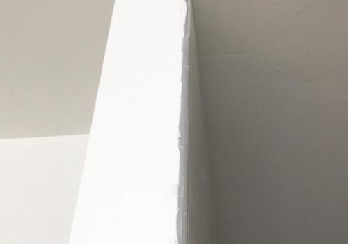 壁のペンキ塗りチェック